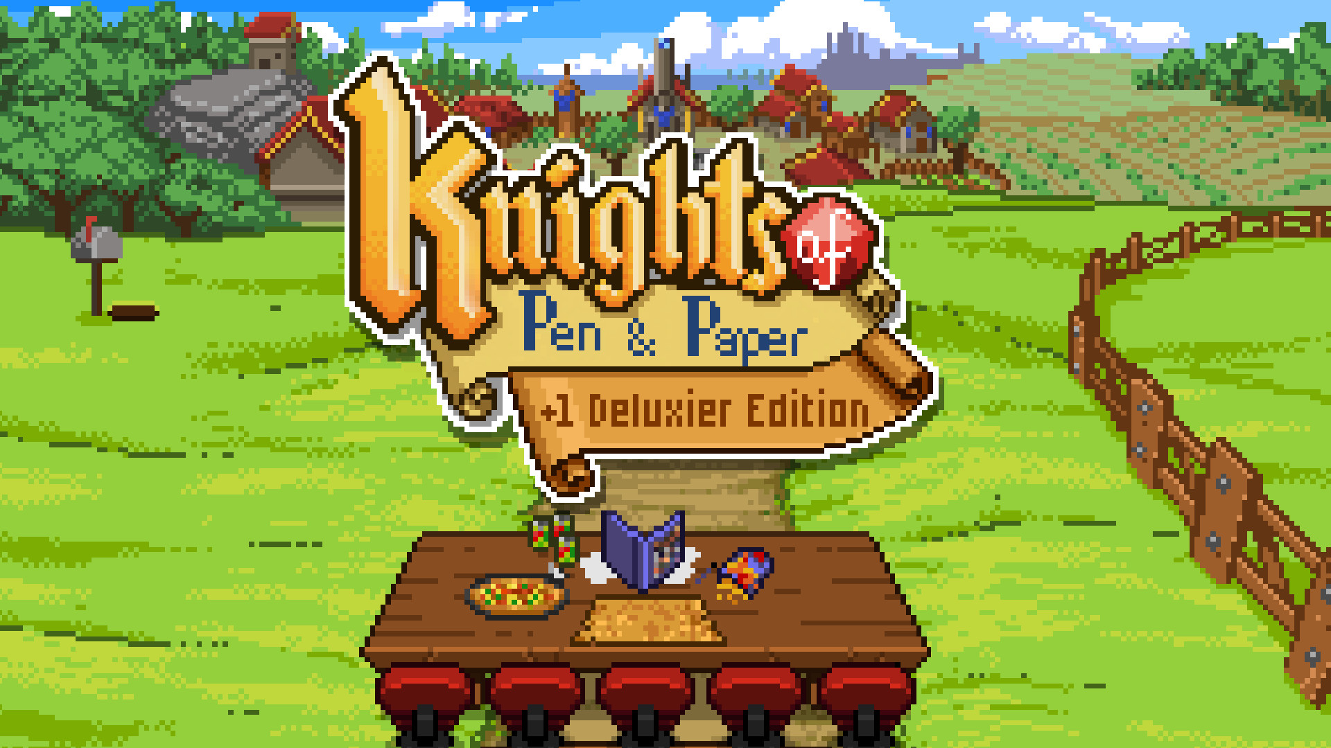 ■ナイツ オブ ペン アンド ペーパー(Knights of Pen and Paper +1 Deluxier Edition)